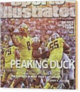 Peaking Duck Marcus Mariota Sports Illustrated Cover Wood Print