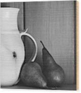 Pear Still Life Wood Print