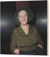 Pearl S. Buck Wood Print