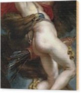 Pedro Pablo Rubens / 'the Rape Of Ganymede', 1636-1637, Flemish School, Oil On Canvas. Wood Print