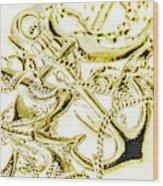 Pendant Port Wood Print