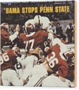 Penn State Mike Guman, 1979 Sugar Bowl Sports Illustrated Cover Wood Print