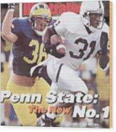 Penn State University Freddie Scott Sports Illustrated Cover Wood Print
