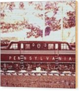 Pennsylvania Winter, Gg1 Wood Print
