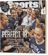 Perfect 10 Geno Auriemma, In His Own Direct Unapologetic Sports Illustrated Cover Wood Print
