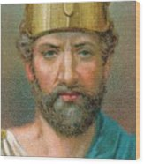 Perikles C490-429 Bc, Athenian Wood Print