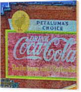 Petalima's Drink Coca-cola Wood Print