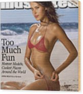 Petra Nemcova Swimsuit Issue 2003 Sports Illustrated Cover Wood Print