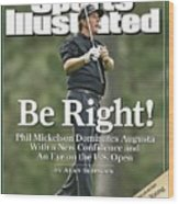 Phil Mickelson, 2006 Masters Sports Illustrated Cover Wood Print