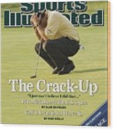 Phil Mickelson, 2006 Us Open Sports Illustrated Cover Wood Print