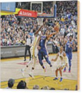 Philadelphia 76ers V Golden State Wood Print