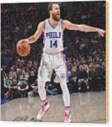 Philadelphia 76ers V Houston Rockets Wood Print