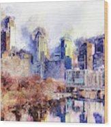Philadelphia, Pennsylvania - 04 Wood Print