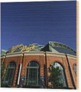 Philadelphia Phillies V Milwaukee Wood Print