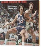 Phoenix Suns Alvan Adams, 1976 Nba Finals Sports Illustrated Cover Wood Print