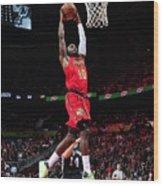 Phoenix Suns V Atlanta Hawks Wood Print