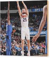 Phoenix Suns V Dallas Mavericks Wood Print