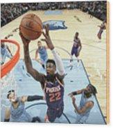 Phoenix Suns V Memphis Grizzlies Wood Print