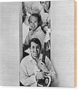 Photo Of Beach Boys And Al Jardine And Wood Print