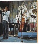 Photo Of Jazz Messengers And Art Blakey Wood Print