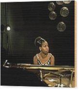 Photo Of Nina Simone Wood Print