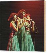 Photo Of Supremes And Susaye Greene And Wood Print