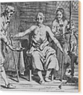 Physicians And Patient During Early Wood Print