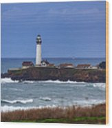 Pigeon Point Light Station In San Mateo County Ca Wood Print