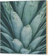 Pineapple Crown Wood Print