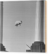 Pink Floyds Pig Wood Print