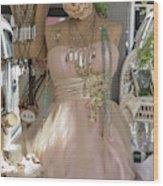 Pink Lady Series 01 Wood Print