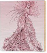 Pink Sussurus Wood Print