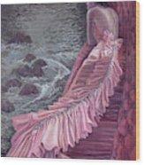 Pink Taffeta Wood Print