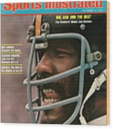 Pittsburgh Steelers Joe Greene Sports Illustrated Cover Wood Print