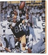 Pittsburgh Steelers Lynn Swann, Super Bowl X Sports Illustrated Cover Wood Print