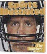 Pittsburgh Steelers Qb Ben Roethlisberger, 2009 Nfl Sports Illustrated Cover Wood Print