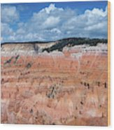 Point Supreme Overlook - Cedar Breaks - Utah  Wood Print