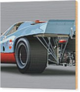 Porsche 917 Rear  Wood Print