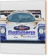 Porsche 962 Al Holbert Racing Wood Print