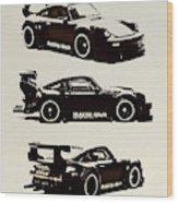Porsche Rwb 930 Wood Print