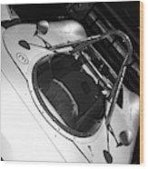 Porsche Spyder Wood Print