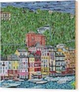 Portofino, Italy Wood Print