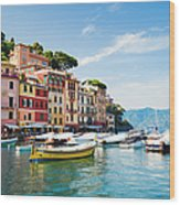 Portofino, Liguria, Italy Wood Print