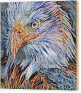 Portrait Of A Watchful Eye Wood Print