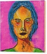 Portrait Of A Woman 1139 Wood Print