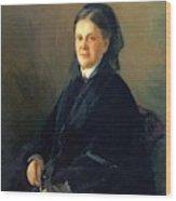 Portrait Of Anna Olsufyeva Wood Print