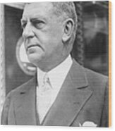 Portrait Of Banker Charles Edwin Wood Print