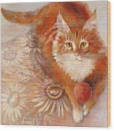 Portrait Of Fandorin Wood Print