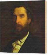 Portrait Of Ivan Zabela Wood Print