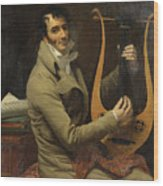 Portrait Of Jean-dominique Fabry Garat Wood Print